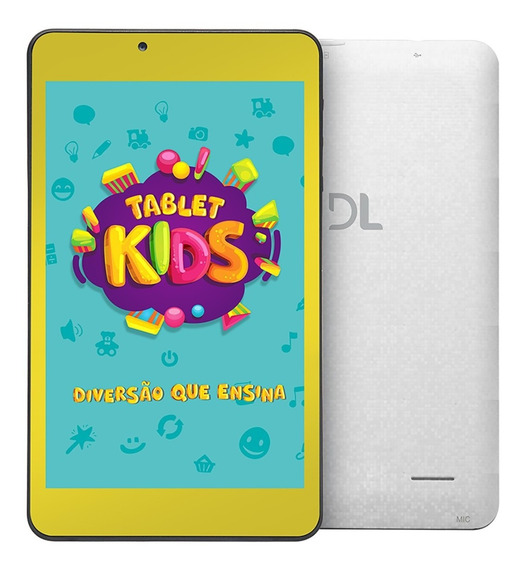Tablet Dl Tx 394 Kids C10 7 +capa Bumper
