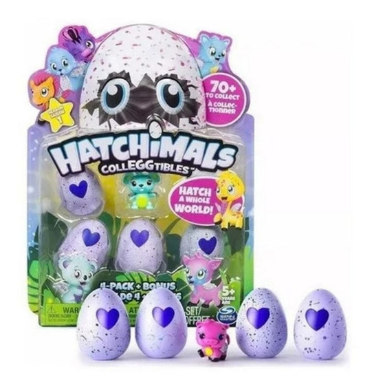 Hatchimals Colleggtibles - Com 4 Ovos - Sunny Brinquedos