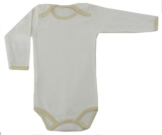 Pañalero Manga Larga Liso Para Bebé Talla 12 Meses