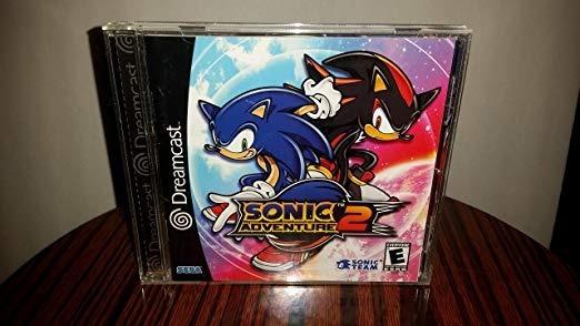 Jogo De Dreamcast Sonic 2 Midia Prata Frete Gratis