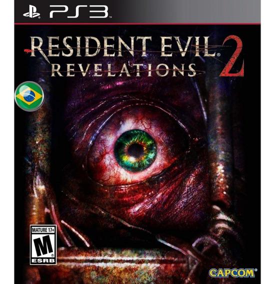 Resident Evil Revelations 2 - Jogos Ps3 Playstation 3 Pt Br