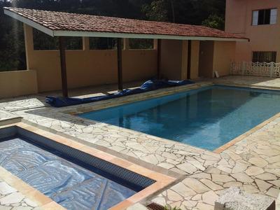 Chácara Em Atibaia Com 2 Casas 2 Piscinas Lago Sauna Pomar