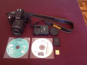 Nikon Semi-nova Com Menos De 4.500 Clicks !!!!