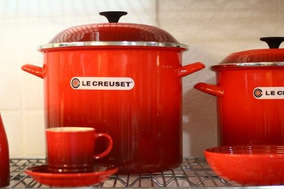 Stock Pot 26cm - Le Creuset - Vermelha