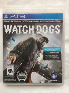 Watch Dogs Ps3 Envíos Todo Chile
