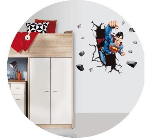 Vinilos  Decorativos Superheroe Spiderman Superman Hulk Cap