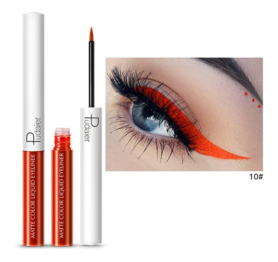 Delineador De Olhos Colorido À Prova D