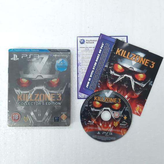 Killzone 3 Edição De Colecionador - Case E Jogo - Ps3