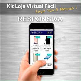 Faça Voce Mesmo Kit Loja Virtual Responsiva Ecommerce