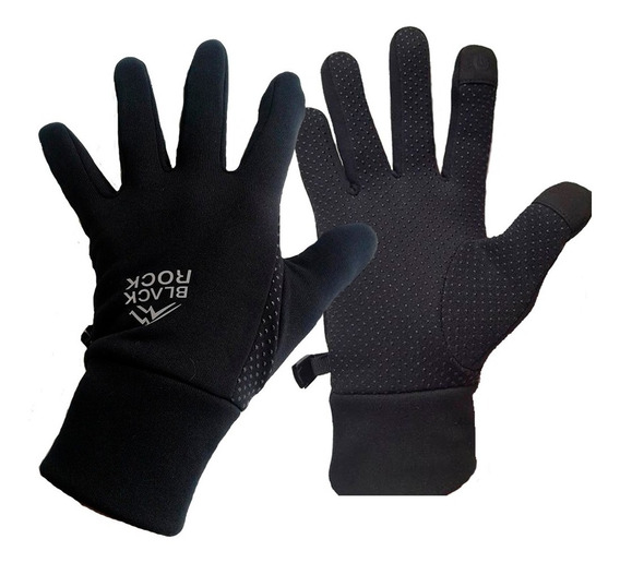 Guante Polar Stretch Unisex - Black Rock