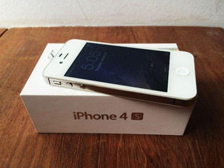 iPhone 4s 8gb Original Apple Branco 3g Desbloqueado + Case