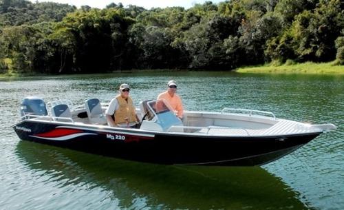 Barco Metalboat Mb 220 Fishing