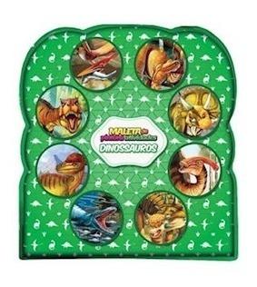 Livro Meus Livros De Pinturas E Atividades - Dinossauros
