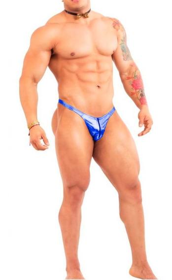 Ropa Interior Para Hombre Sexy Tanga Tipo T Elaborada En Tela Metalica Con Cierre Al Frente Tela Ajustable Ta53