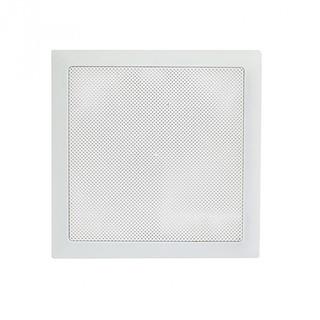 Arandela Quadrada Fiamon Plástico 6 Polegadas Com Difusor 30