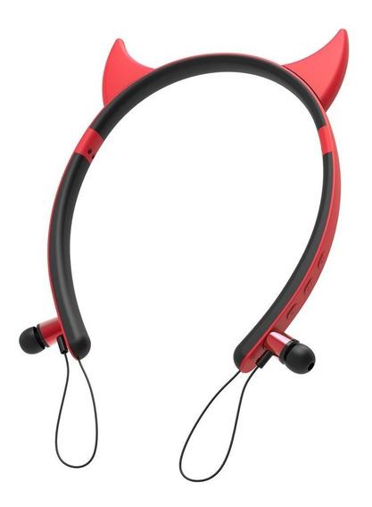 5 Unidade Headfone Bluetooth Devil Hf-c262bt Exbom Auricular