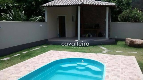 Casa Residencial À Venda, Recanto De Itaipuaçu (itaipuaçu), Maricá. - Ca2892