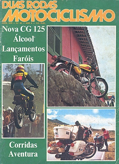 2r.046 Abr79- Honda Cg125 Yamaha650 Suzuki Biciclet Motor 2t
