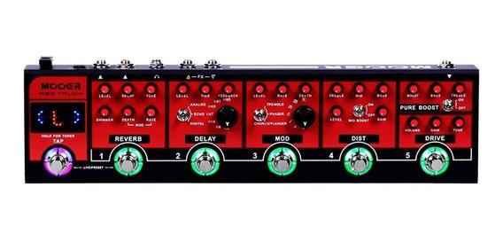 Pedaleira Para Guitarra Mooer Red Truck - Cpt1 - Promoção