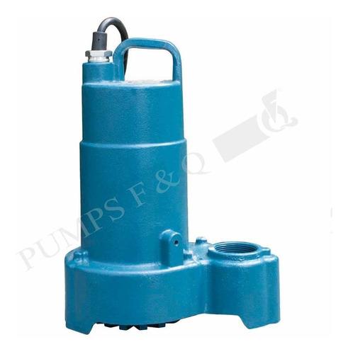 Imagen 1 de 2 de Bomba Sumergible Vortex Agua Sucia Residual 3/4 Hp Cfv75
