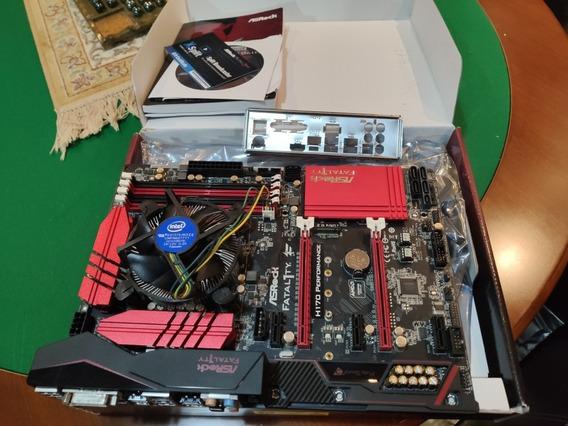Processador Intel I5 6400 + Placa Mãe Asrok Fatality H170