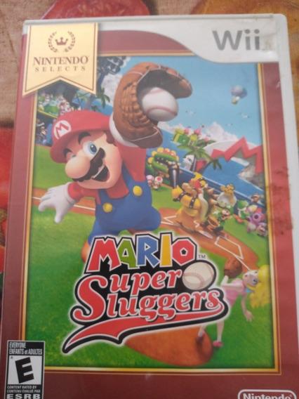 Mario Super Sluggers Para Nintendo Wii
