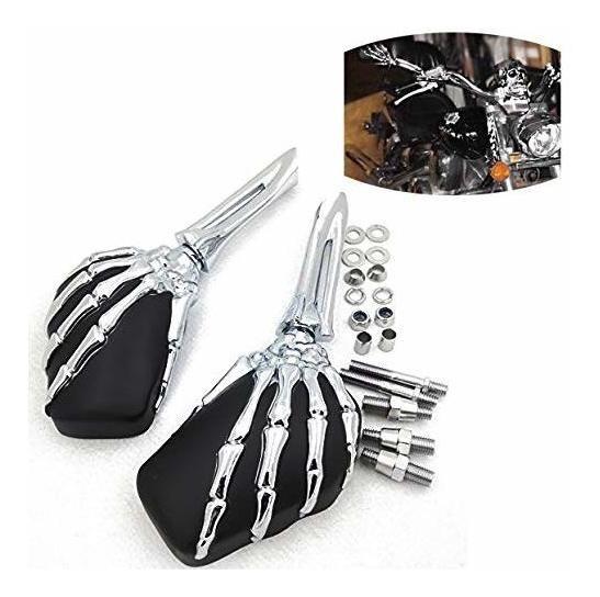 Espejo De Mano Esqueleto De Garra De Motocicleta Para Honda
