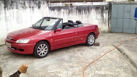 Peugeot 306 Cabriolet, Conversivel Completo Ano 1995