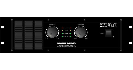 Amplificador Mk 3.0 2 Ohms 3000w - Mark Audio