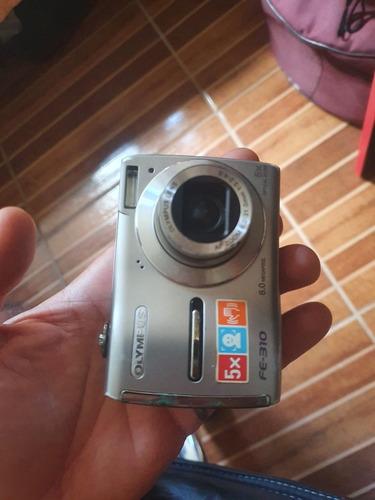 Camera Olympus Fe-310 8mp + Cartão Memória 2gb + 1gb + Leito