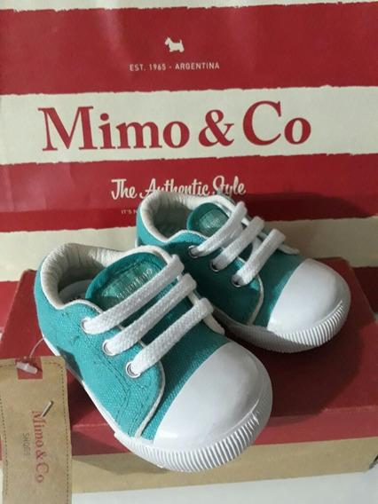 Zapatillas Mimo Y Co Talle 17 Y 18 Nuevas