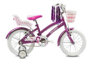 Bicicleta Infantil Nena Olmo Tiny Rodado 16