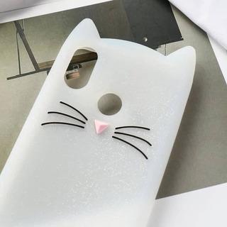 Funda Silicona Para Xiaomi Redmi Note 7 Diseño Gatito