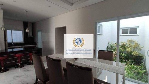 Imagem 1 de 9 de Casa Com 3 Dormitórios À Venda, 162 M² Por R$ 725.000,00 - Jardim Residencial Vaughan - Sumaré/sp - Ca1414