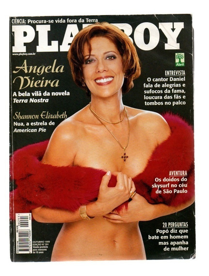 Revista Playboy Angela Vieira