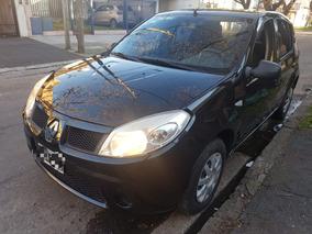 Renault Sandero 1.6 Auth Con Gnc Financio