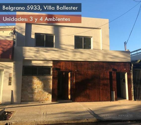 Moderno Ph 4 Ambientes Con Cochera A Estrenar En Villa Ballester.