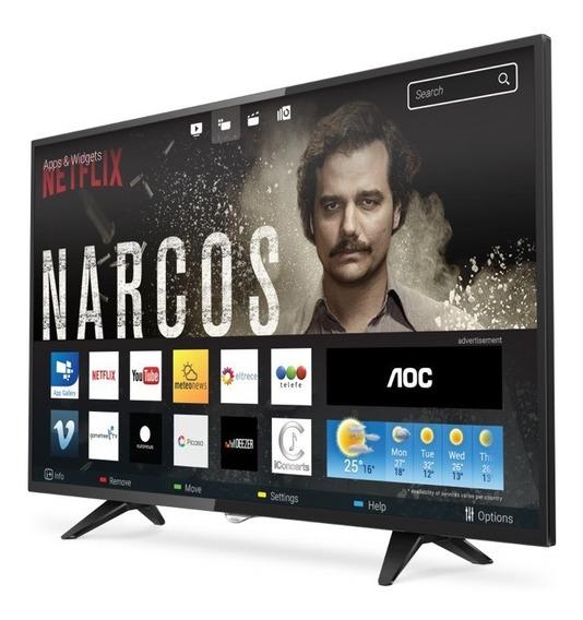 Aoc Le43s5970 De 43 Clase Tv Led Smart Tv