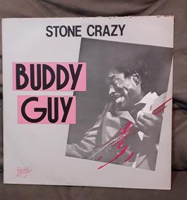 Lp Buddy Guy Stone Crazy 1988 Raridade Por Um Bom Preço