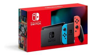Nintendo Switch + 4 Juegos. Equipo Nuevo En Caja Cerrada