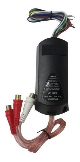 Adaptador De Impedancia Auto Estereo Amplificador Woofer