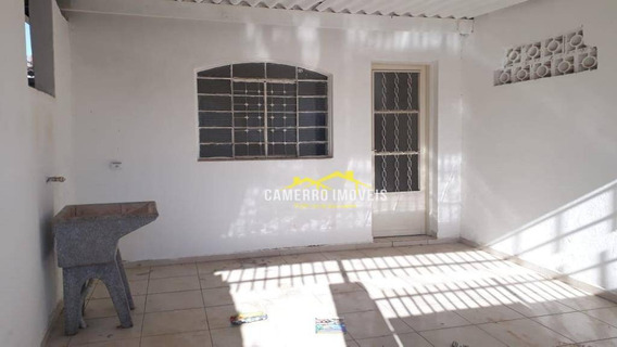 Casa Com 2 Dormitórios Para Alugar, 115 M² Por R$ 900,00/mês - Parque São Jerônimo - Americana/sp - Ca2127