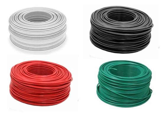 Cable Condumex Thw Calibre #20 100m Verde Blanco Negro Rojo