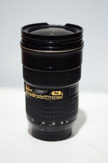 Lente Nikon Nikkor 24 70mm 2.8