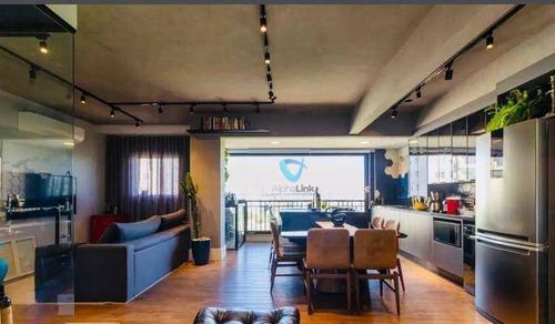 Imagem 1 de 30 de Apartamento Com 2 Suítes  À Venda, 81 M² Por R$ 830.000 - Alphaville - Barueri/sp - Ap2941