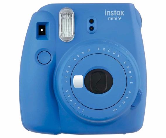 Câmera Fujifilm Instax Mini 9 Azul Cobalto + Pacote 20 Fotos