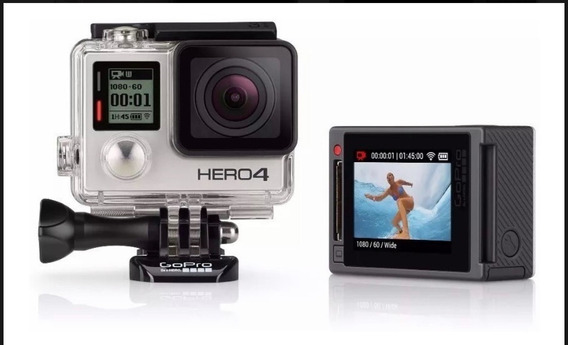 Gopro Hero4 Silver Lcd 4k Full Hd