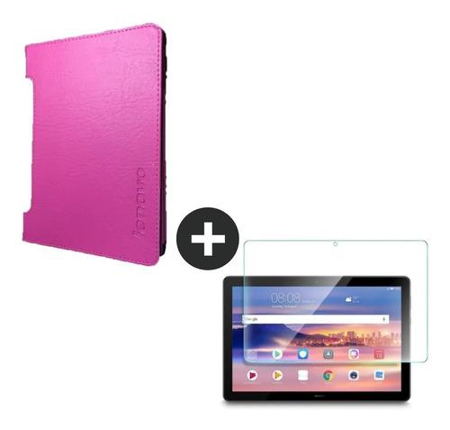 Estuche Lenovo Yoga Tab 3 De 8 Pulgadas Funda Mas Vidrio