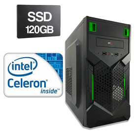 Cpu Intel Celeron G530 2,4ghz 4gb Ddr3 Ssd 120gb