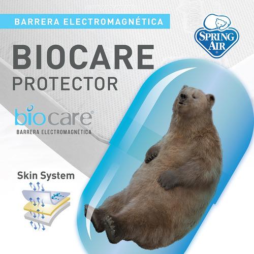 Spring Air Protector De Colchón Biocare  - Matrimonial